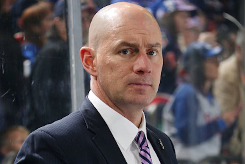Newfoundlander Darryl Williams has been let go by the New York Rangers after four years as an assistant coach with the NHL team. — New York Rangers/Jared Silber/NHLI