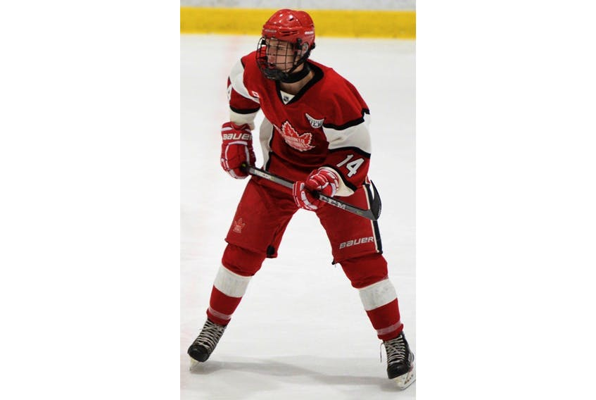 Zach Dean is the ninth-ranked player by QMJHL Central Scouting for the 2019 Quebec Major Junior Hockey League's Entry Draft.