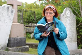 Charis Cotter, writer and storyteller of all things macabre in Newfoundland and Labrador, will make her 11th annual round of schools on the Avalon throughout October reading excerpts from her three novels and eight additional published works based on ghost tales from across the province.