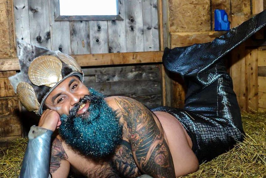 MerB'ys calendar organizer Hasan Hai hopes to break a Guinness world record for the most people dressed as mermaids and mermen in one place in St. John's this June.