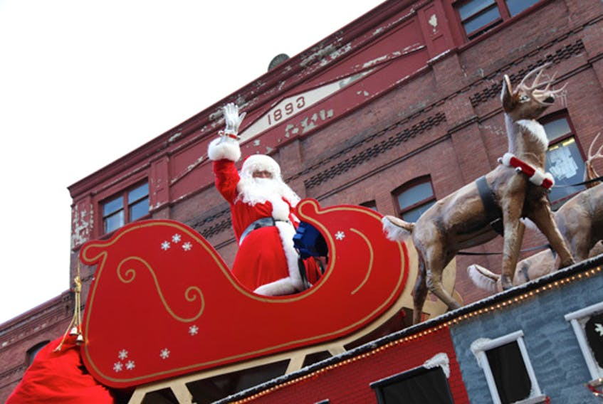 Santa is due to return to downtown St. John's and Mount Pearl today and Sunday — weather permitting.