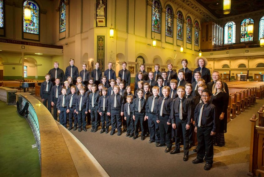 The Atlantic Boychoir is 104 boys and young men ages eight to 22. They have toured Europe, performed with The King's Singers, and in 2019 will share a stage with five-time Grammy-winning vocal group The Swingles, and will also tour France, the United Kingdom and United States. — Greg Locke photo