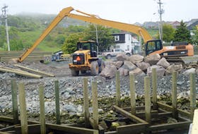 Work to redevelop the former Flake House property in Quidi Vidi Village has been halted again. The City of St. John's has issued a third stop-work order to the project's proponents following an appeal to the Supreme Court of Newfoundland and Labrador by a concerned area resident.