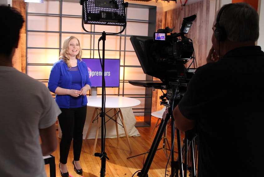 """Ronnie Walsh is the host, researcher, writer and executive producer of a new television series called """"Extrapreneurs,"""" a show produced by Nine Island Communications that focuses on women in business."""