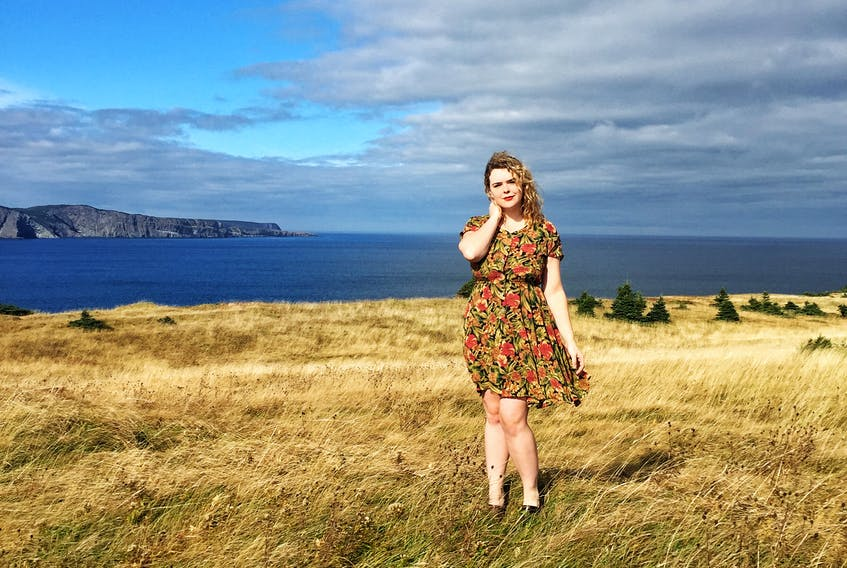 Katie Harvey models an outfit purchased at Model Citizens in St. John's in one of her #50dayssupportinglocal posts. The 24-year-old launched the social media campaign in an effort to make her peers more aware of what's available inside our own borders and the importance of buying local.