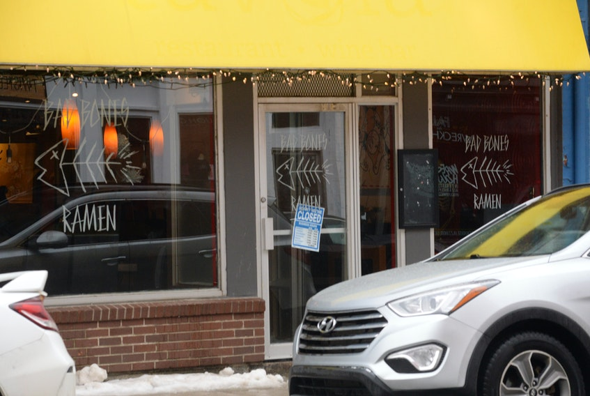 The popular noodle restaurant Bad Bones Ramen has reopened in the former Tavola location on Water Street in St. John's.