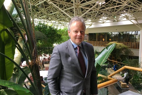 Bank of Canada Governor Stephen Poloz was in St. John's recently for meetings. Just before he flew out, he sat down with The Telegram for a quick chat.