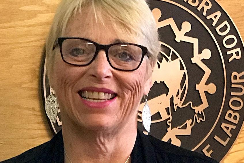 Mary Shortall, president of the Newfoundland and Labrador Federation of Labour.