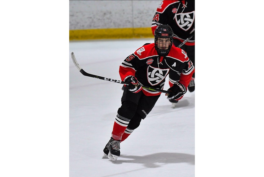 Ryan Greene played prep school hockey at Connecticut's South Kent Prep School this season. He has given a verbal commitment to attend Boston University starting in 2021.