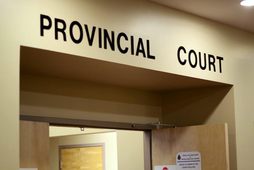 Provincial Court, Atlantic Place, St. John's.  — Telegram file
