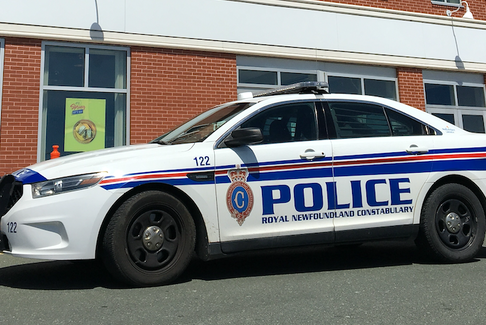 A Royal Newfoundland Constabulary patrol car is shown in St. John's. — File photo