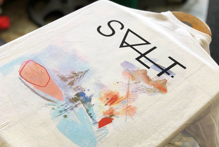 The owners of The shop, SALT have teamed up with artist Mike Gough to create a wearable art fashion line called SALTXMIKEGOUGH for spring. The line goes on sale Thursday night at 7 p.m. at theshopsalt.com.