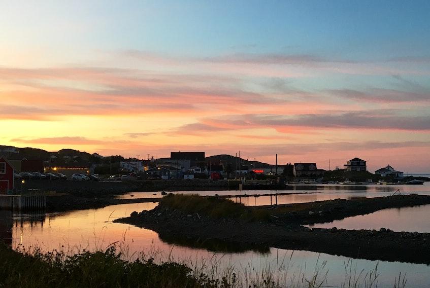 Twillingate at dusk — Martha Muzychka photo