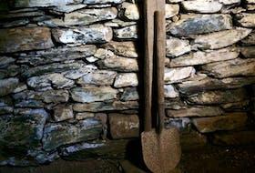Root-cellar shovel. —