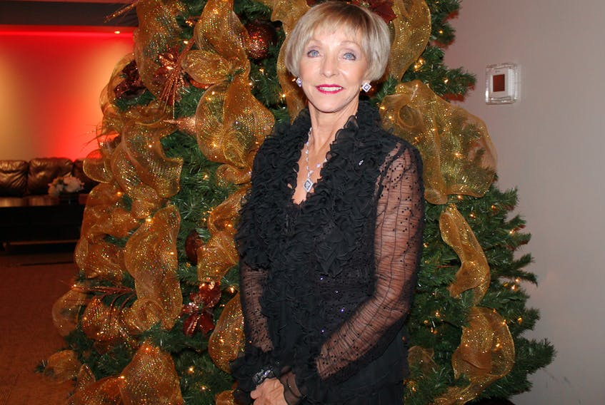 Elaine Dobbin was inducted into the Volunteer Hall of Fame on Thursday evening.