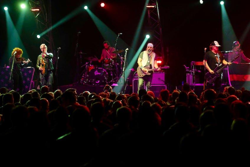 Steve Earle and The Dukes perform Sunday at the Iceberg Alley Festival in St. John's.