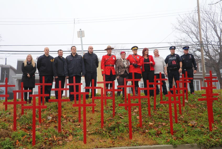 MADD Canada, along with members of the RNC, RCMP, government officials, volunteers and supporters, launched the 2017 Red Ribbon Campaign Monday in St. John's.