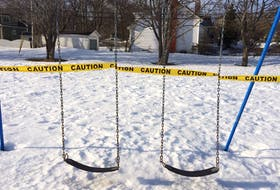 Playtime is over. Last week, the City of St. John's closed public playgrounds. —