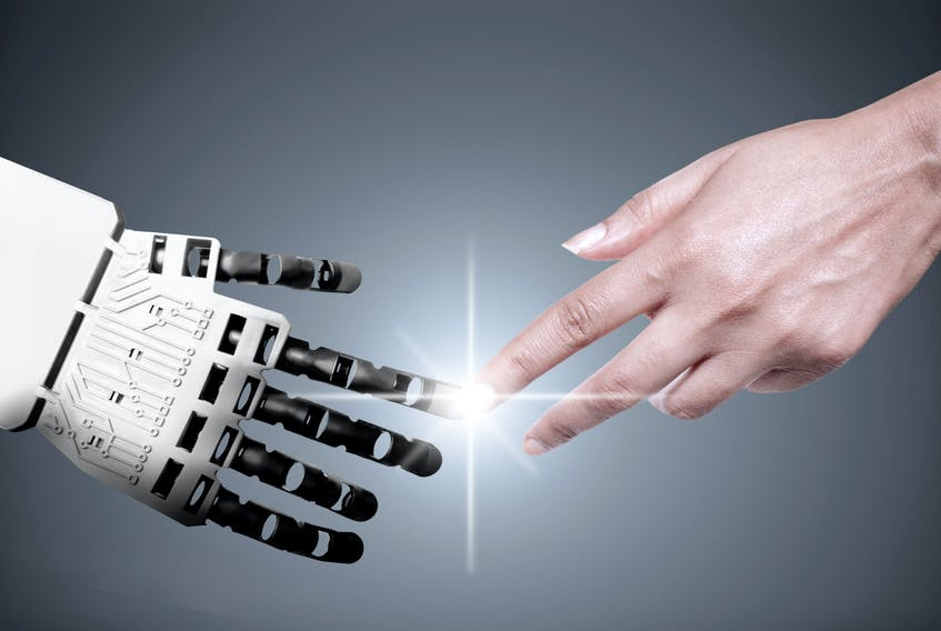 Young people in Canada are entering a workforce that will be increasingly disrupted by robotics and other technological advancements. — Stock photo