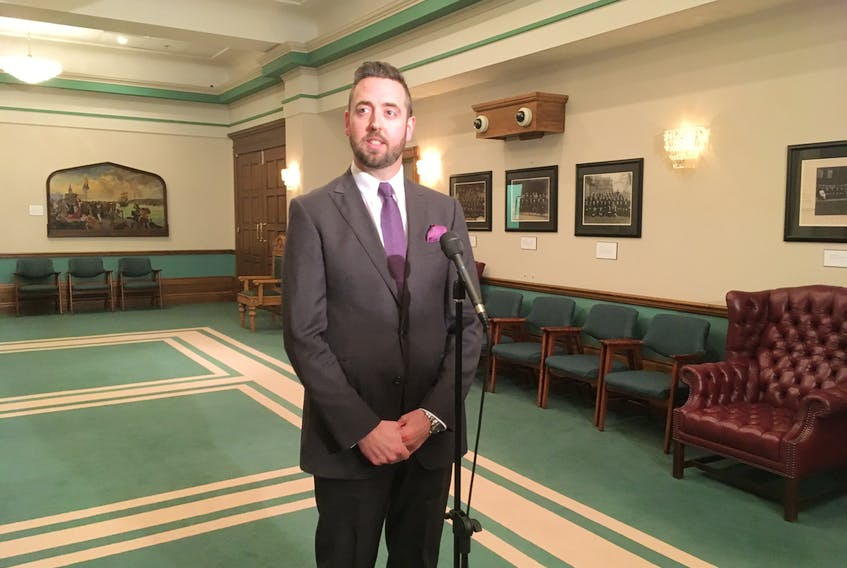Ashley Fitzpatrick/The Telegram  — Andrew Parsons, minister of justice and public safety, is looking at a new way for people to pay off huge outstanding fines.