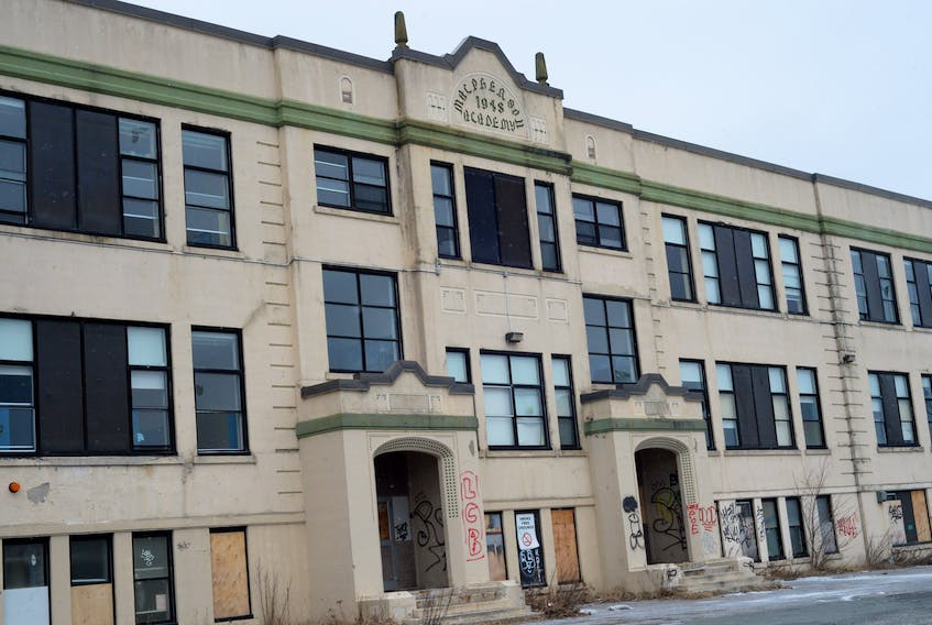 Macpherson Elementary in St. John's is one of three vacant schools up for tender by the Newfoundland and Labrador English School District.