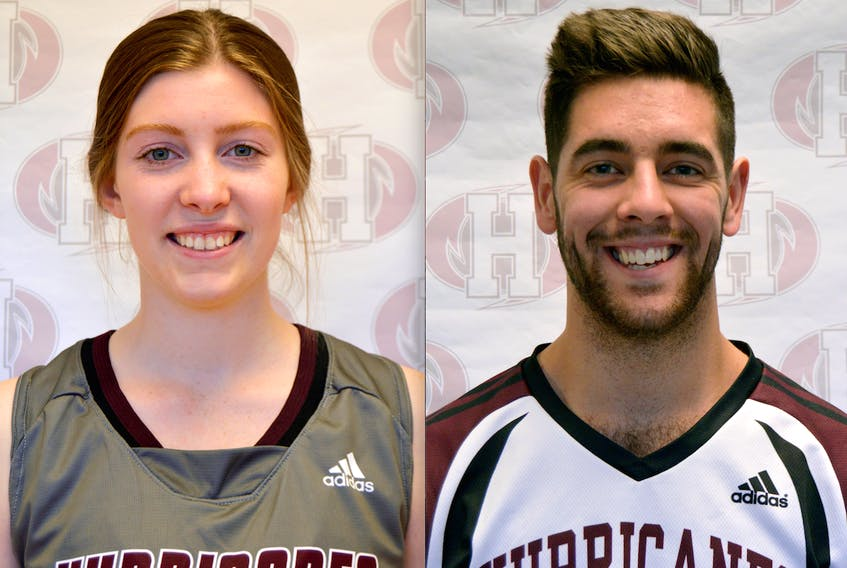 Lexi MacInnis and Gordon Vetch are this week's Holland College Hurricanes athletes of the week.