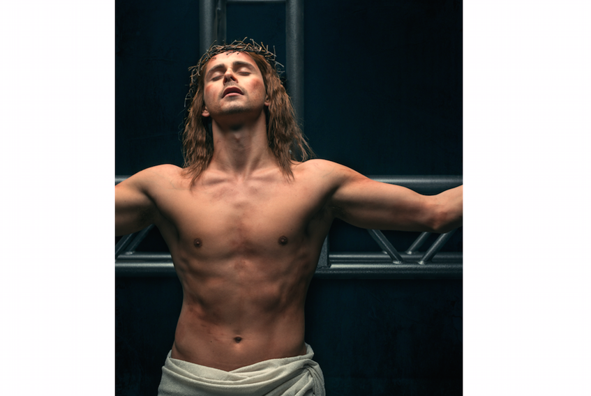 """Aaron Hastelow appears as the title character in """"Jesus Christ Superstar"""" playing at the Homburg Theatre as part of the Confederation Center of the Arts' Charlottetown Festival this summer."""