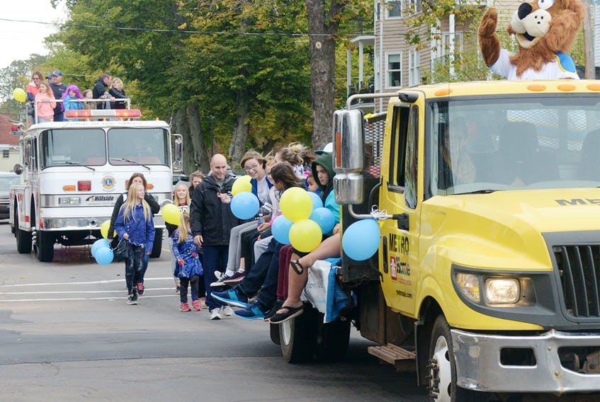 The annual Wishmaker Walk for Wishes saw approximately $68,000 raised throughout five locations across the province on Saturday. MITCH MACDONALD/THE GUARDIAN