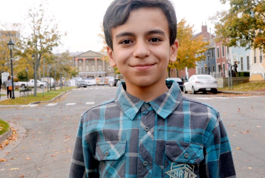 Twelve-year-old Charlottetown resident Basel Alrashdan is scheduled to share his family's story of coming to Canada as Syrian refugees with the U.N. on World Children's Day.