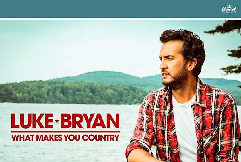 Country music star Luke Bryan. ©