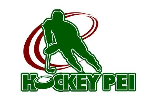 Hockey Prince Edward Island logo.