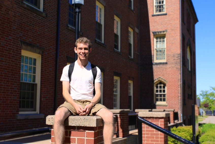 Morgan King, an honours science student in chemistry and biology at UPEI, has been selected for a prestigious Killam Fellowship at Clemson University in South Carolina. Submitted photo
