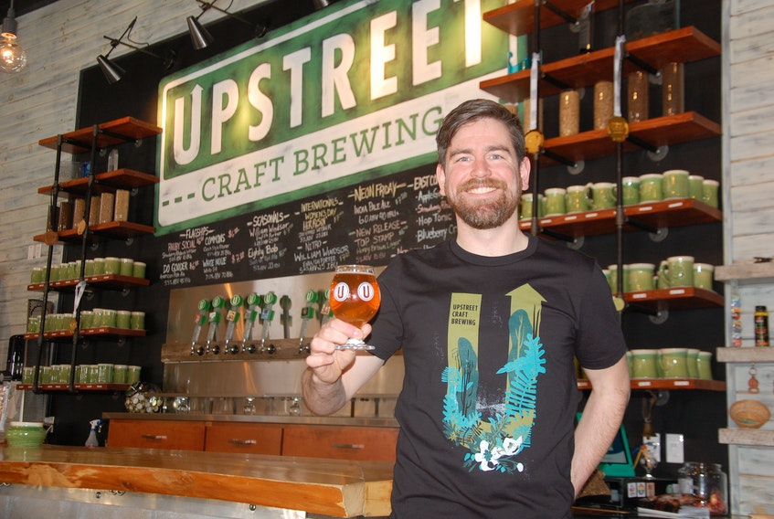 """Kyle Lutz, sales manager with Upstreet Craft Brewing in Charlottetown, says the first P.E.I. Craft Brewing Week, running June 1-8, will showcase all the """"great products'' being made in Island microbreweries."""
