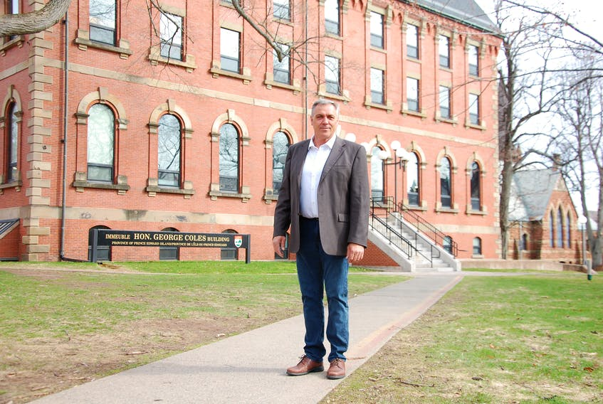 Robert Mitchell, the newly appointed interim leader of the Liberal Party of P.E.I., says he plans to co-operate with the Green Party and the Progressive Conservative government on the floor of the legislature.