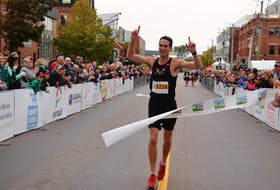 Participants in the 14th annual Prince Edward Island Marathon on Sunday, Oct. 15, 2017