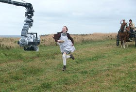 """Filming on Season 2 of the TV series """"Anne"""" is underway in P.E.I. and Ontario. (Photo courtesy of Chris Reardon)"""