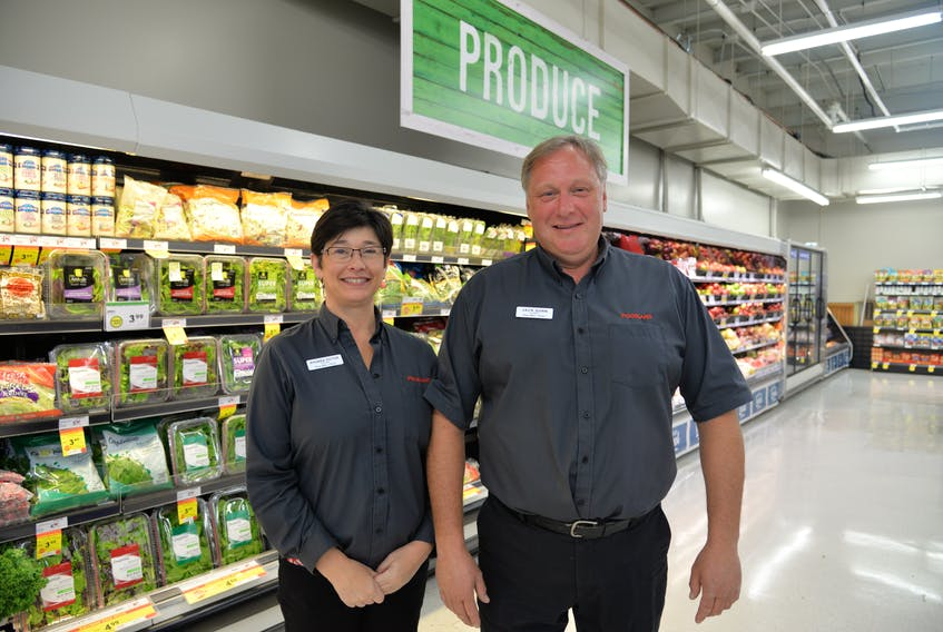 Rhonda Victor and Jack Dunn are having a grand re-opening on Saturday for their Foodland Charlottetown franchise after renovations in the summer. (Terrence McEachern/The Guardian)