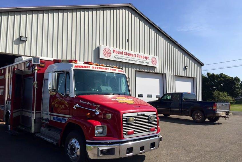 Mount Stewart Fire Department.