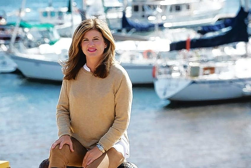 Rona Ambrose is pictured during a tour of the Charlottetown waterfront in this file photo. Ambrose will be in Charlottetown today to speak to P.E.I. PC MLA Jamie Fox's private members bill requiring incoming judges to receive sexual assault training.