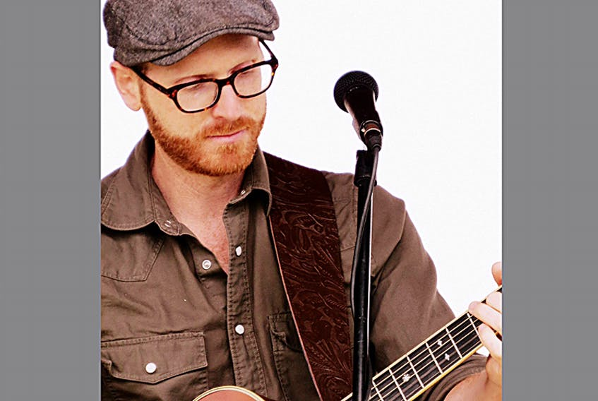 P.E.I. musician Adam MacGregor.