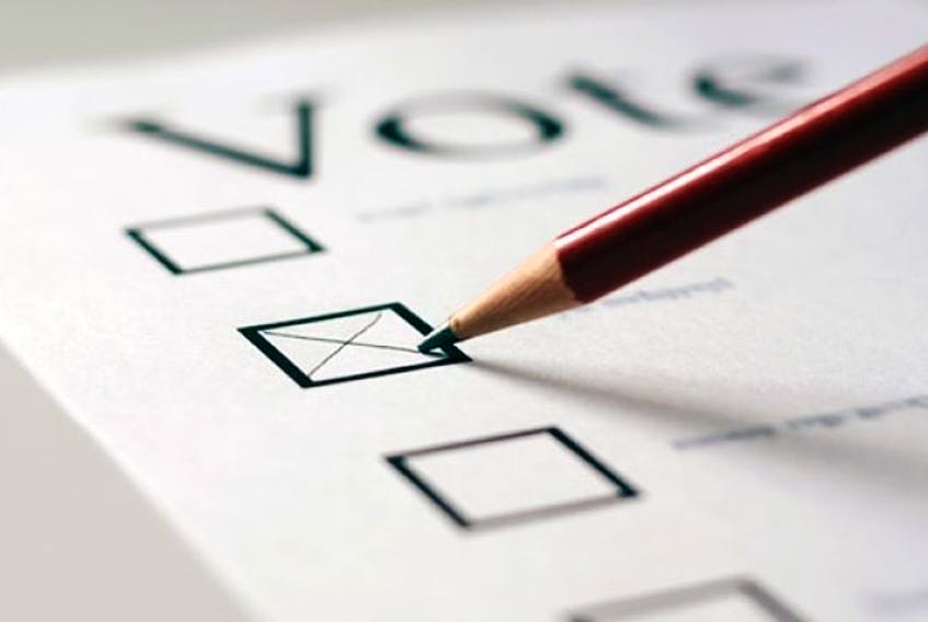 Islanders were going to the polls a year ago in the plebiscite on electoral reform (File Graphic)