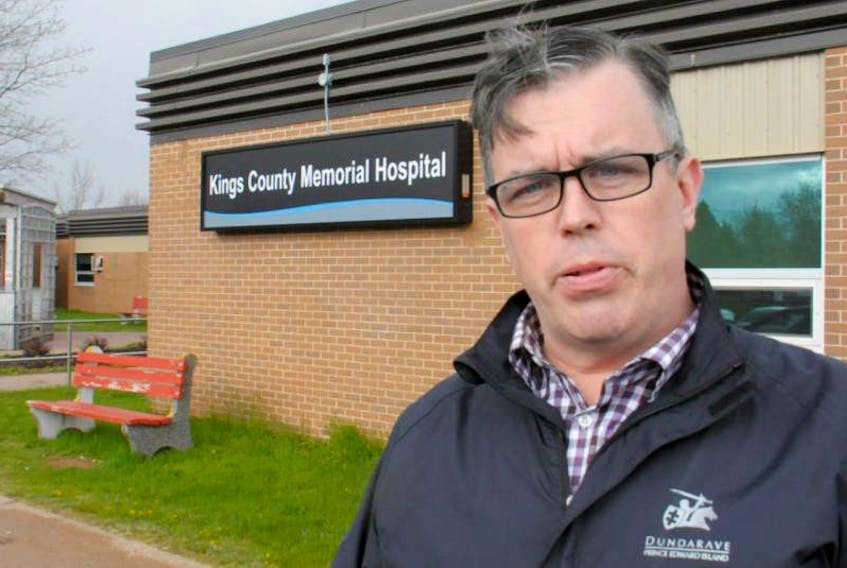 Opposition MLA Steven Myers has expressed concerns about the increasing closures of the emergency department at the Kings County Memorial Hospital.  (Guardian File Photo)