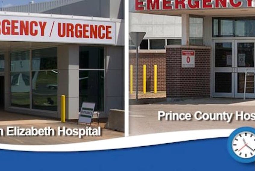 Emergency departments in Charlottetown and Summerside are open 24 hours, seven days a week. (P.E.I. government photo)