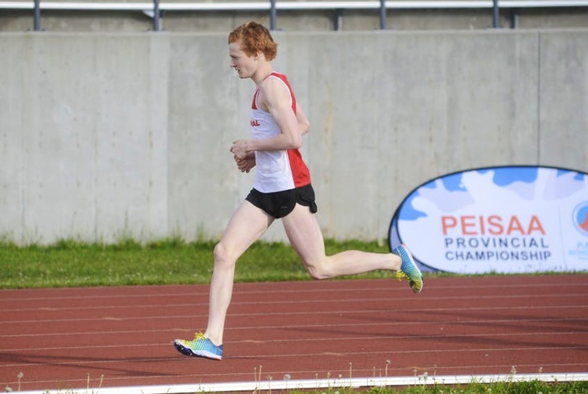 Jeremy Neuffer of Stratford will join the UNB cross-country and track and field teams for the 2019-20 Atlantic University Sport season.