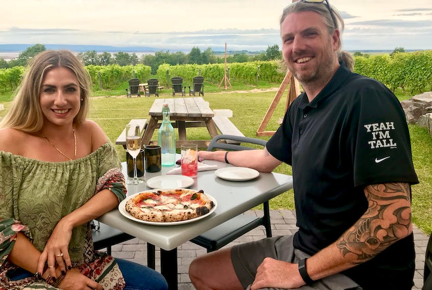 Rachel Sauvé and Doug McKinney will open their restaurant Cork and Cast on a floating dock this May at the Charlottetown waterfront.