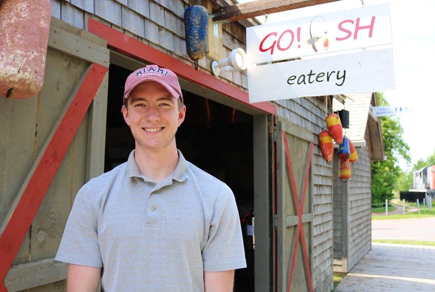 Trent Murphy, one of the owners of Go! Fish Eatery, is excited to see the restaurant open its doors and bring revenue to the town of Kensington.