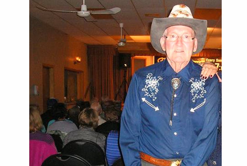 """Bill Acorn, 83, a retired P.E.I. sheriff, has been charged with sexually assaulting a male teenager several years ago. The Charlottetown man has also been charged with uttering threats. Acorn hosted the long-running cable television show, """"Bill's Country Jamboree"""", earning him status as a local celebrity. GUARDIAN FILE PHOTO"""