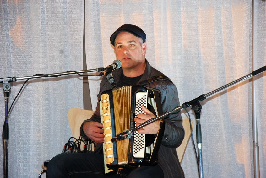 Michael Pendergast of The Pendys, along with Tom MacSwiggan, Shane Pendergast and Andy Doucette will perform at the Benevolent Irish Society on Friday.