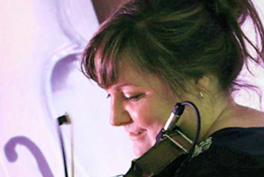 Cape Breton fiddler Shelly Campbell will perform in concert with Allan Campbell today at the Old Triangle in Charlottetown at 8 p.m. The duo will also play a Halloween square dance for ages 19 and over at the BarNone Brewery in Rose Valley on Oct. 28 starting at 8 p.m. SUBMITTED PHOTO