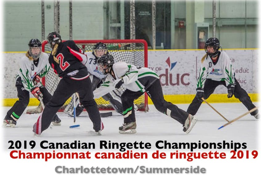 Summerside and Charlottetown will host the 2019 Canadian Ringette Championships. Submitted photo
